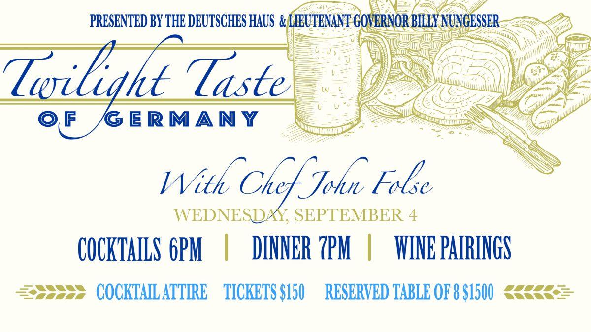 Twilight Taste of Germany Gala